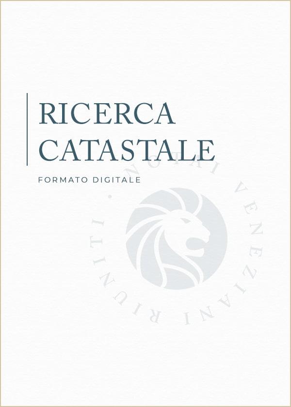 Ricerca Catastale Notai Veneziani Riuniti